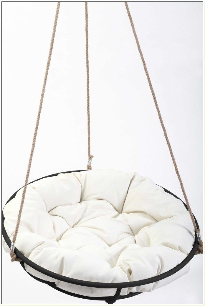 Egg shaped hanging chair ikea chairs home decorating - Indoor hanging egg chair for bedroom ...