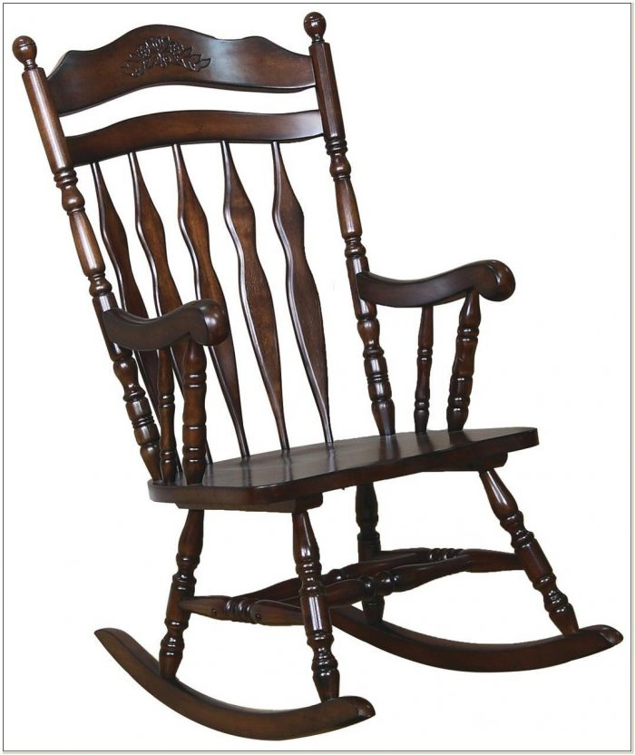 Indoor Wooden Rocking Chairs For Adults
