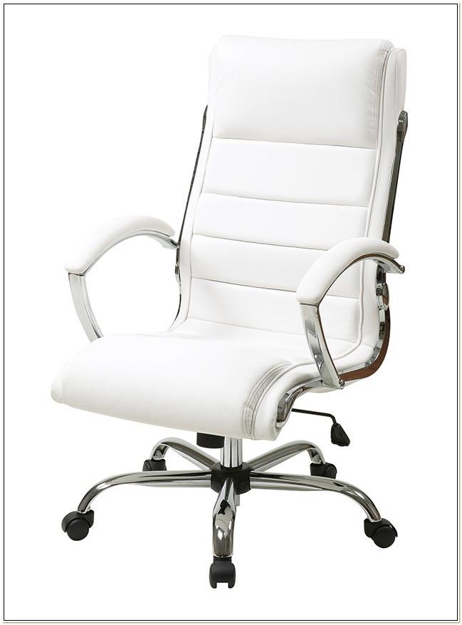 Inspired By Bassett White Office Chair