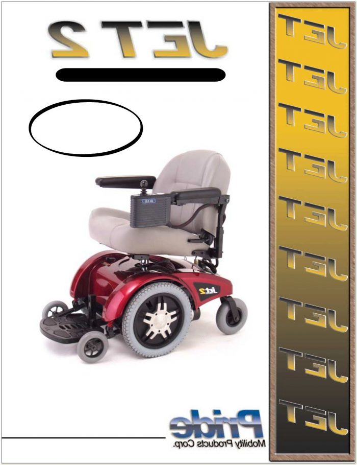 Jet2 Pride Mobility Power Chair
