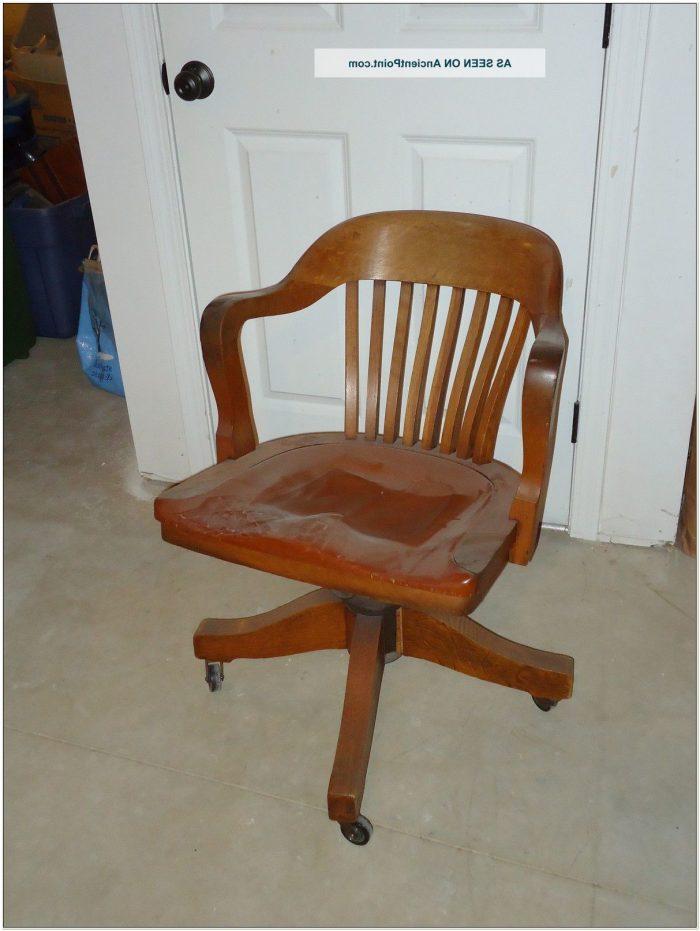 Johnson Chair Company Chicago Swivel Chair