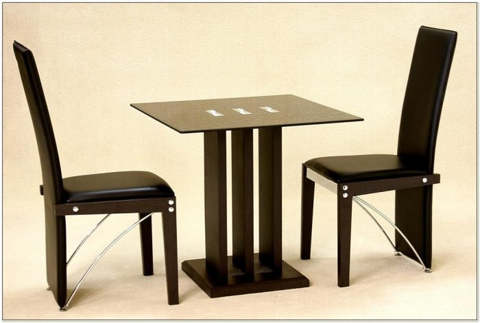 Kitchen Dining Table And Two Chairs