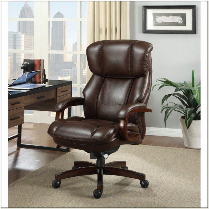 La Z Boy Raynor Leather Executive Chair