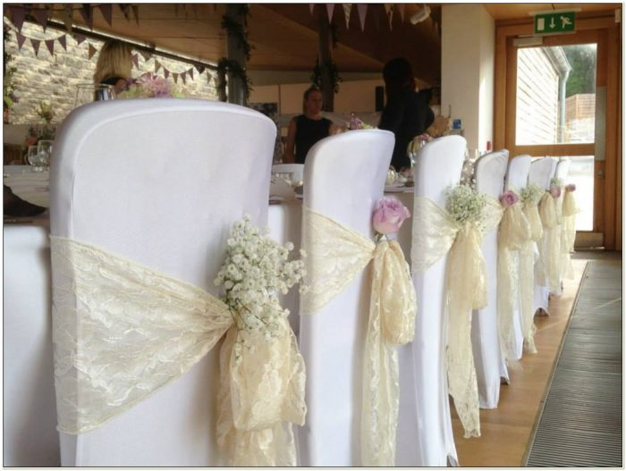 Lace Sashes For Chair Covers