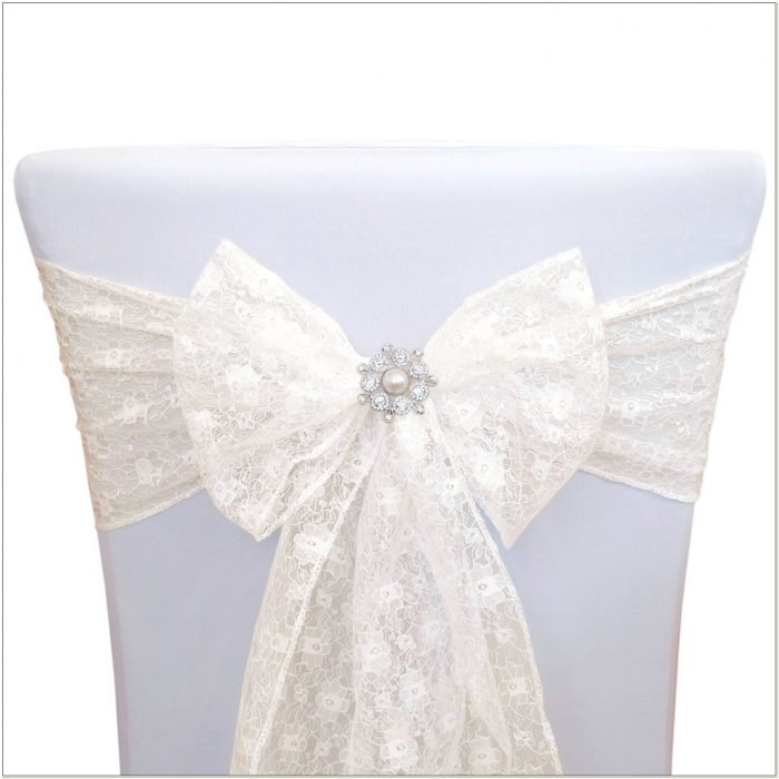 Lace Sashes For Wedding Chairs