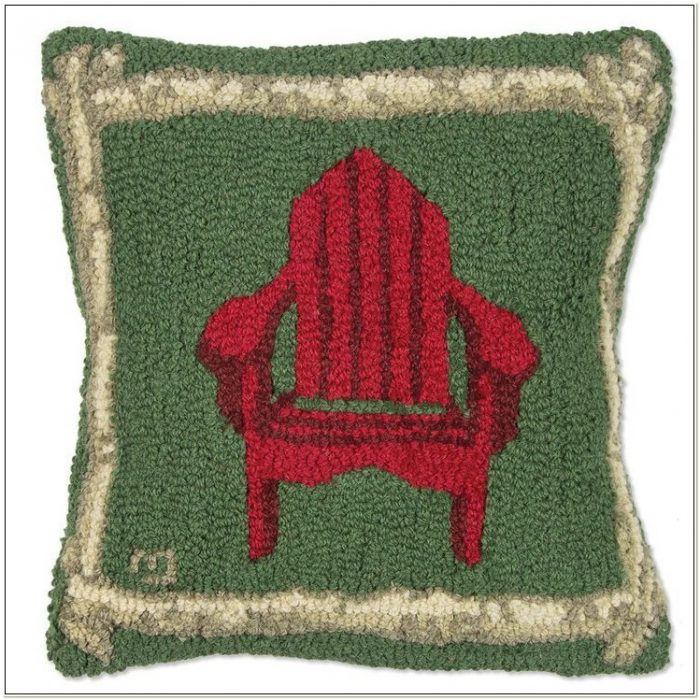 Laura Megroz Hooked Wool Chair Pads
