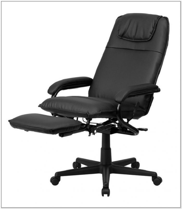 Leather Executive Reclining Office Chair