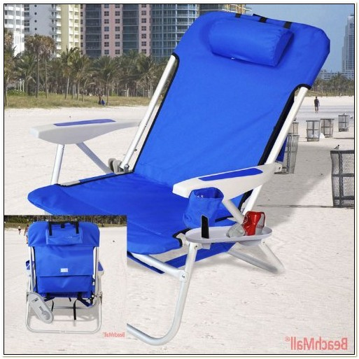 Lightweight Backpack Beach Chair