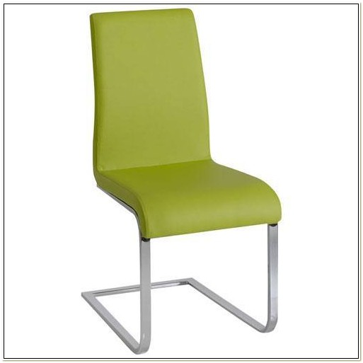 Lime Green Leather Dining Chairs