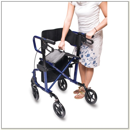 Healthline Combo Transport Rollator Chair Chairs Home
