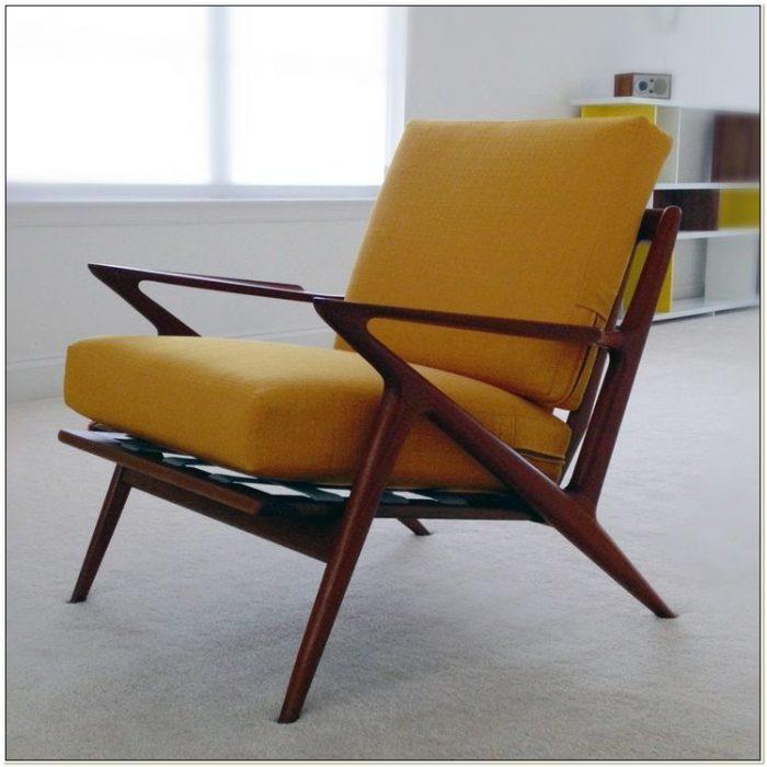 Mid Century Modern Z Chair