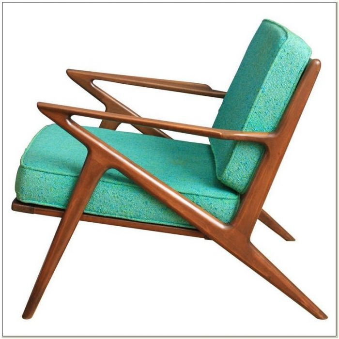 Mid Century Z Chair