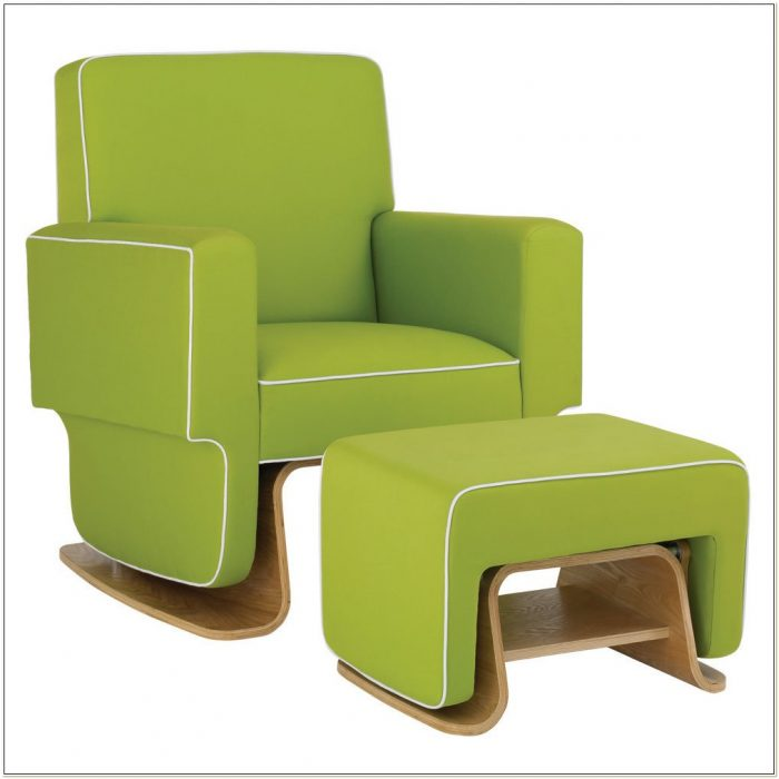 Modern Glider Chair Nursery