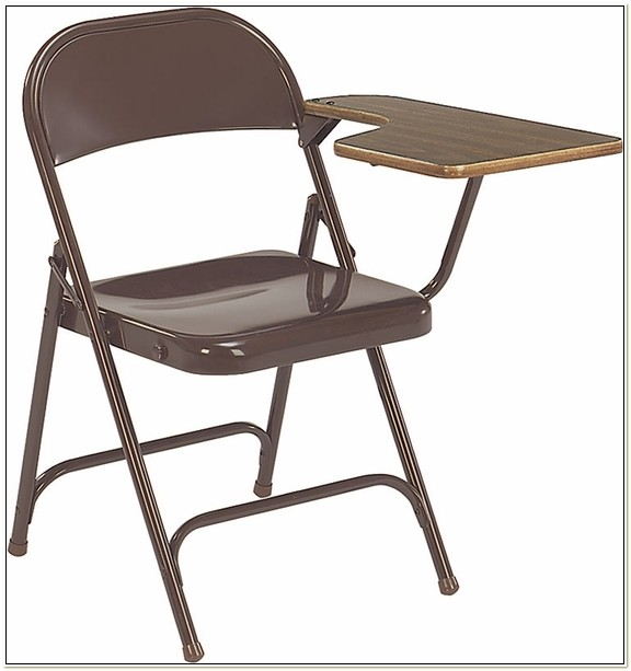 Multi Purpose Folding Chair With Tablet Arm