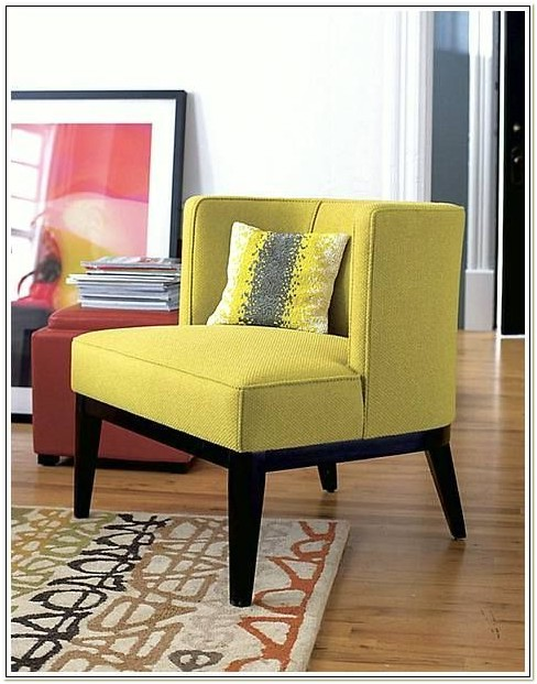 Mustard Yellow Accent Chairs