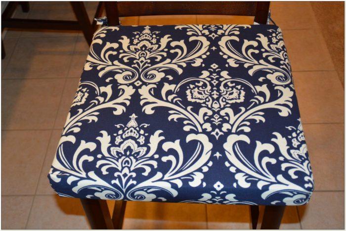 Navy Blue Dining Chair Cushions