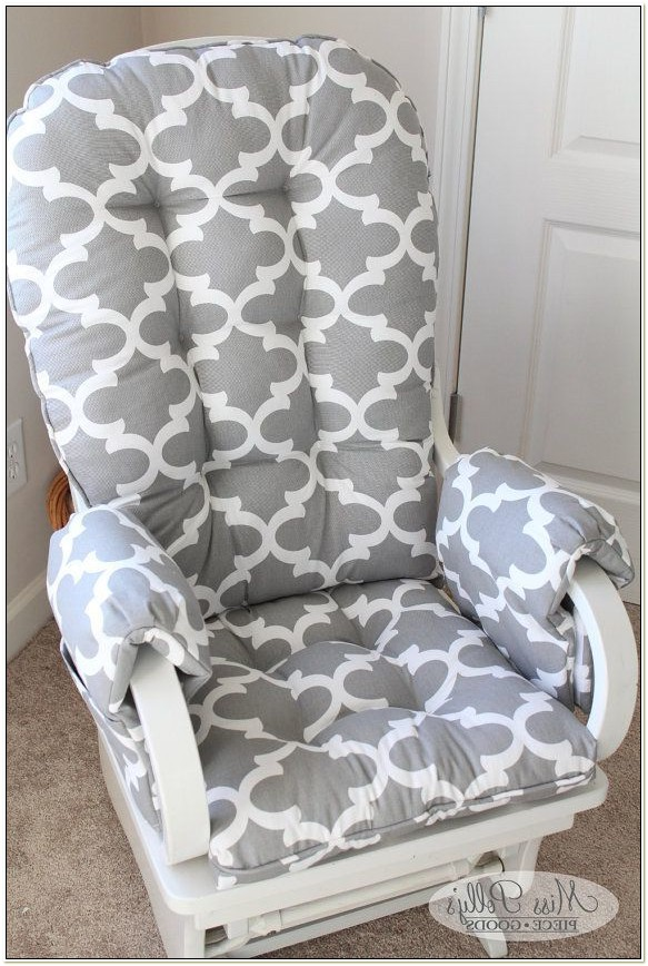 Nursery Glider Chair Cushions