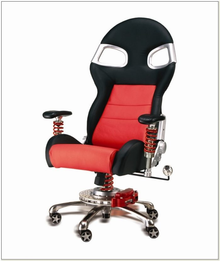 Office Chair With Inline Skate Wheels