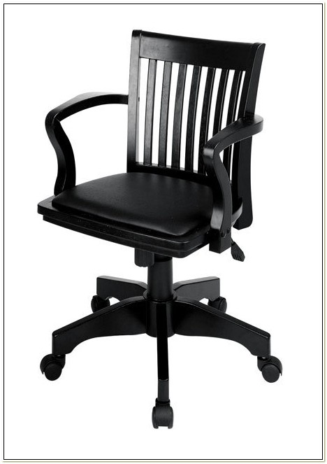 Office Star Black Bankers Chair