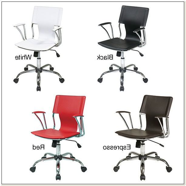 Office Star Dorado Office Chair Red