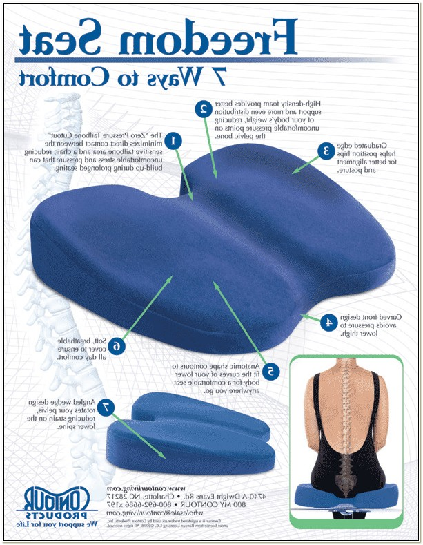 Orthopedic Seat Cushion For Office Chair