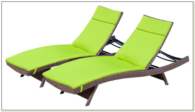 Outdoor Chaise Lounge Chairs With Cushions