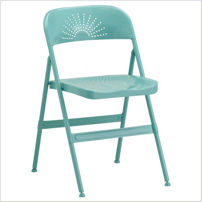 Padded Metal Folding Chair Target