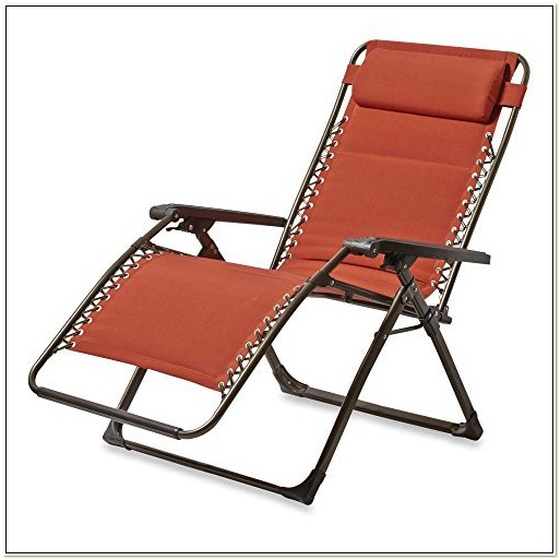 Padded Zero Gravity Lounge Chair