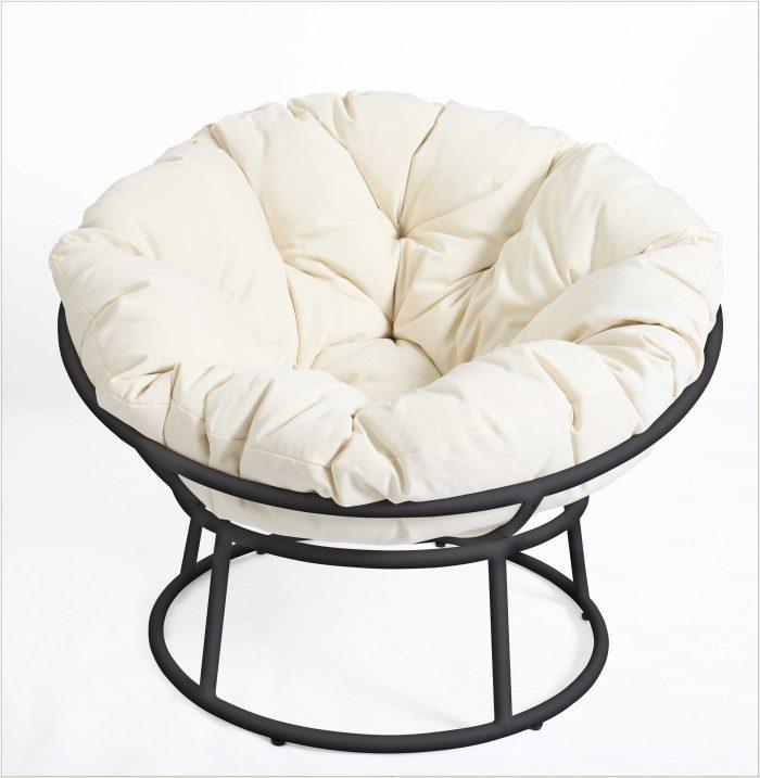 Papasan Chair Frame With Cushion