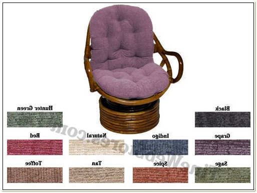Papasan Swivel Chair Cushion Covers