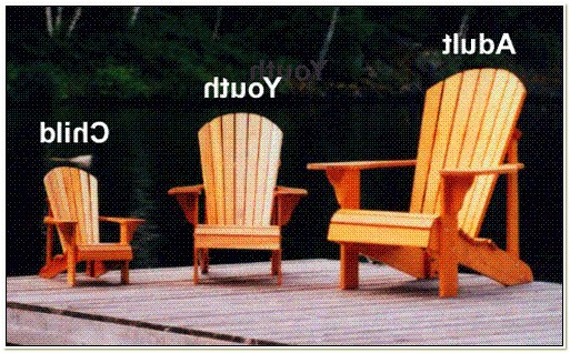 Plans For Childrens Adirondack Chairs