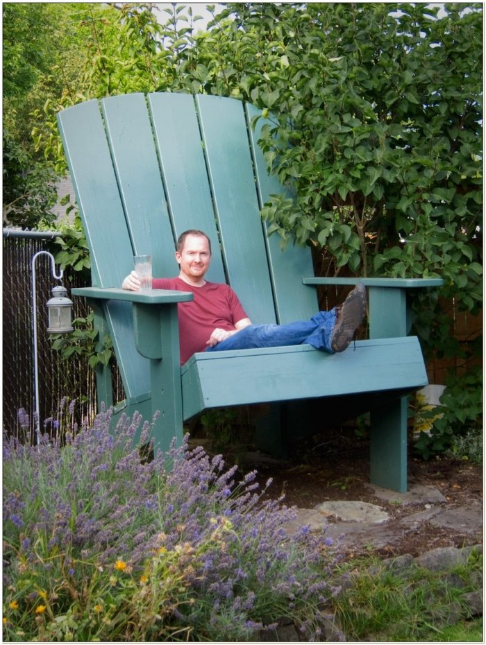 Plans For Oversized Adirondack Chairs