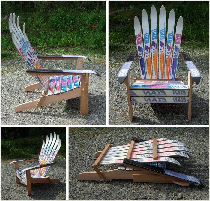 Plans For Ski Adirondack Chairs