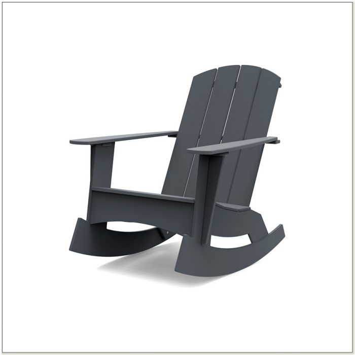 Plastic Adirondack Rocking Chairs