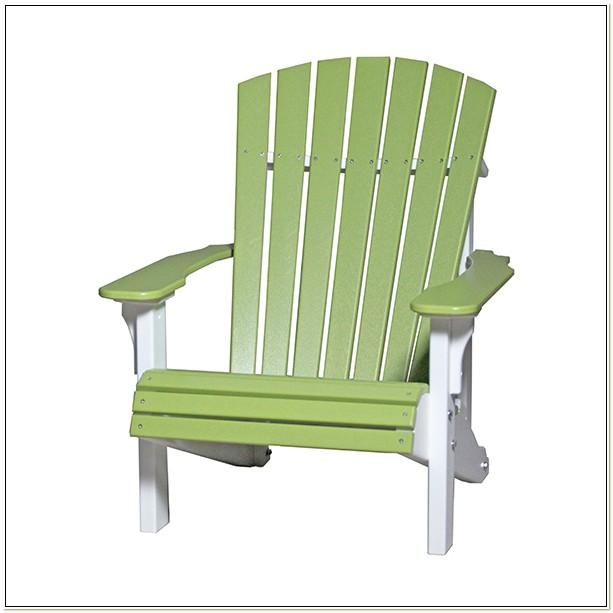 Plastic Lumber Adirondack Chairs
