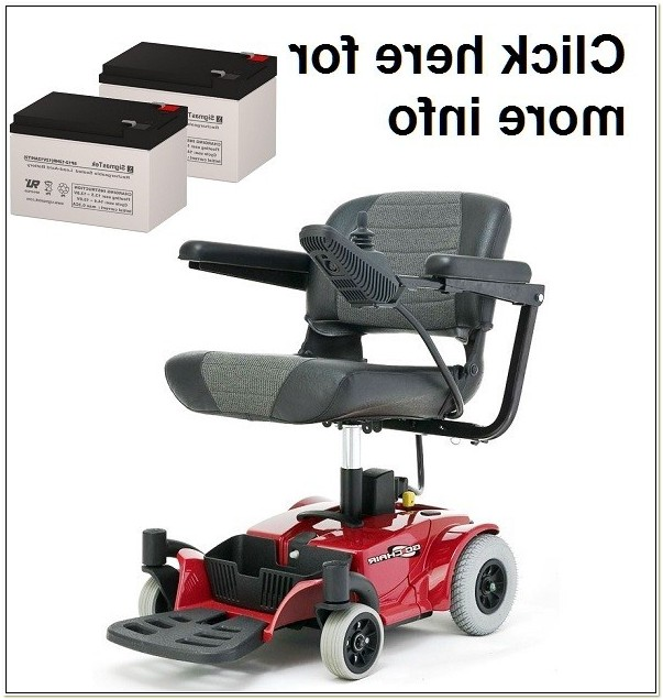 Pride Mobility Go Chair Battery