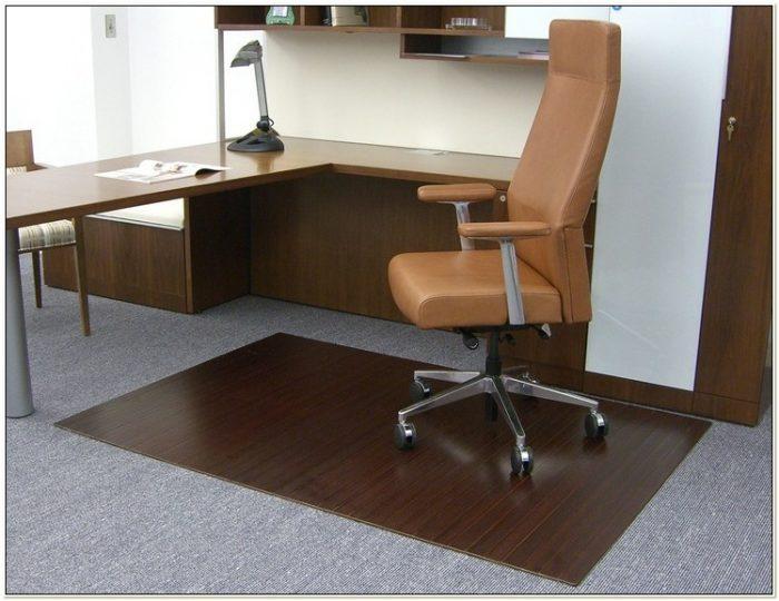 Divoga Bamboo Chair Mat Chairs Home Decorating Ideas