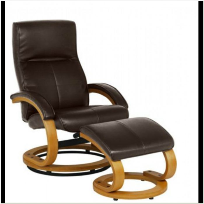 Reclining Chair With Footstool