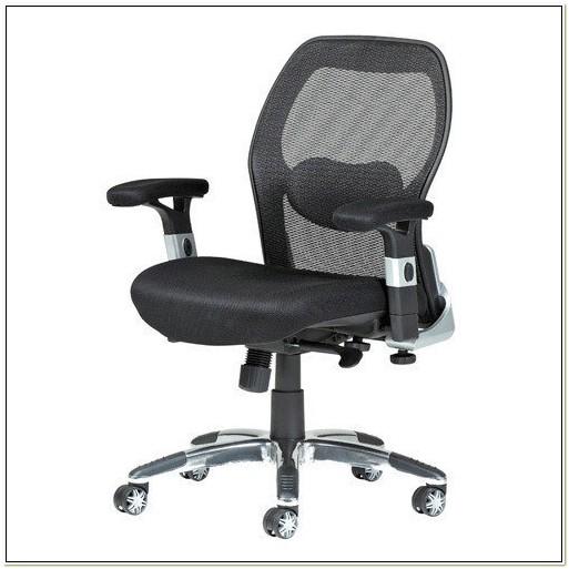 Relish Ergonomic Mesh Office Chair With Headrest