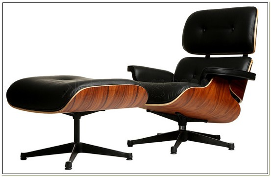 Replica Eames Style Lounge Chair And Ottoman