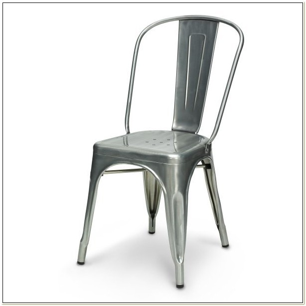 Replica Xavier Pauchard Tolix Chair Galvanised