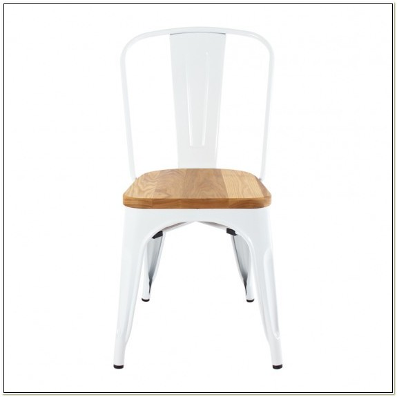 Replica Xavier Pauchard Tolix Chair Wood Seat