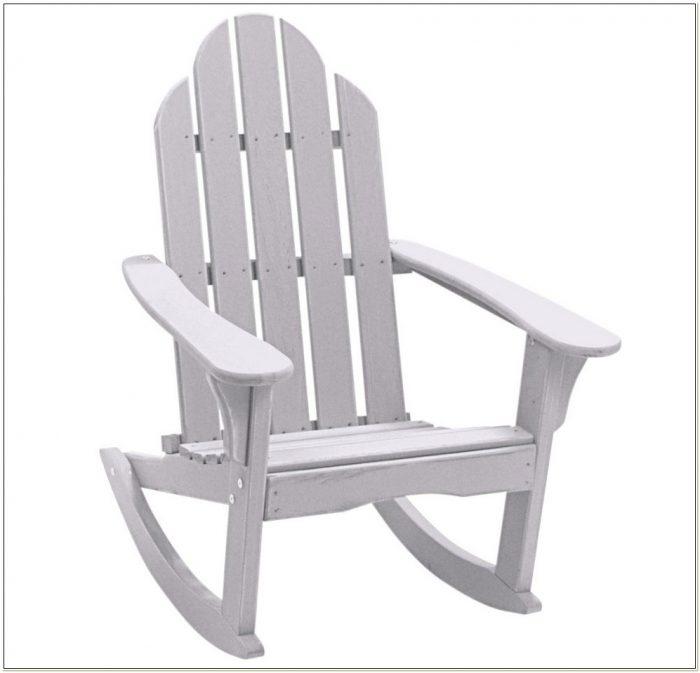 Resin Adirondack Rocking Chairs