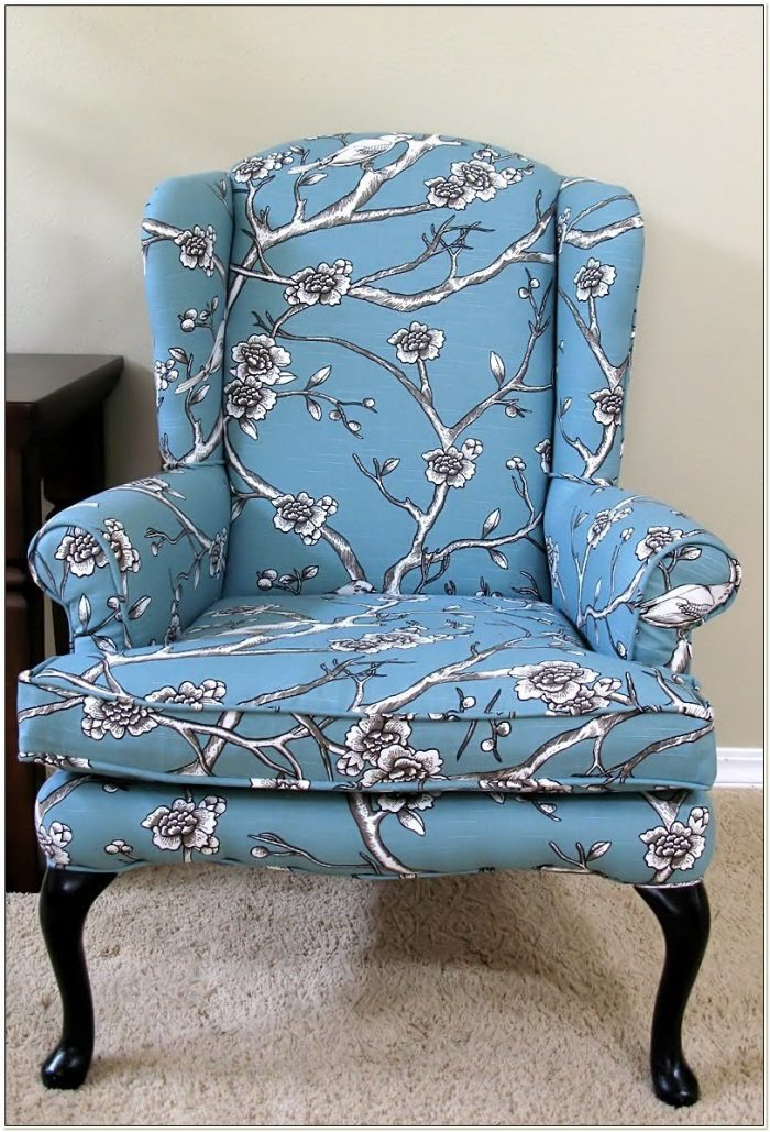 Reupholstering A Wing Chair