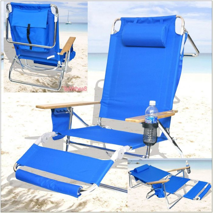 Rio Backpack Chair With Footrest