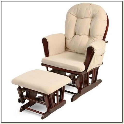 Serenity Natural Glider Maternity Rocking Chair Chairs