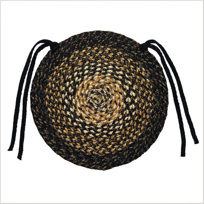Round Braided Chair Pads