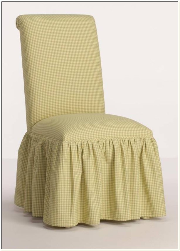 Scroll Back Parson Chair Covers