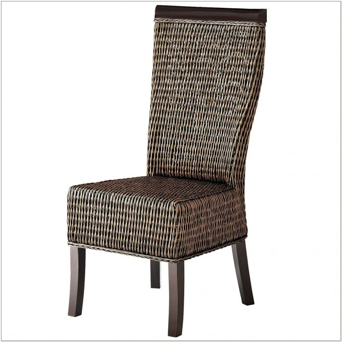 Seagrass Wingback Chair And Ottoman Chairs Home