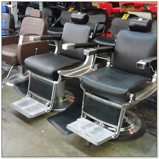 Second Hand Takara Belmont Barber Chairs